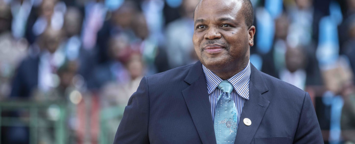 FILE: King Mswati III of eSwatini, at Loftus Stadium for the inauguration of Cyril Ramaphosa as the sixth democratically elected president. Picture: Abigail Javier/EWN