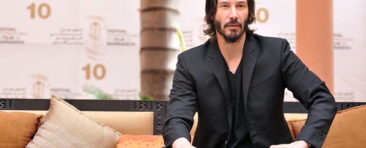 FILE: Canadian actor Keanu Reeves poses during a photocall at the 10th edition of the Marrakech International Film Festival on 4 December 2010. Picture: AFP.