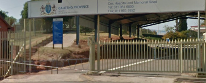 A screengrab of the Dr Yusuf Dadoo Hospital in Krugersdorp.