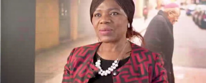 Former Public Protector Thuli Madonsela delivers her speech at the 11th Annual Desmond Tutu International Peace Lecture on 7 October 2021. Picture: @TutuLegacy/Twitter