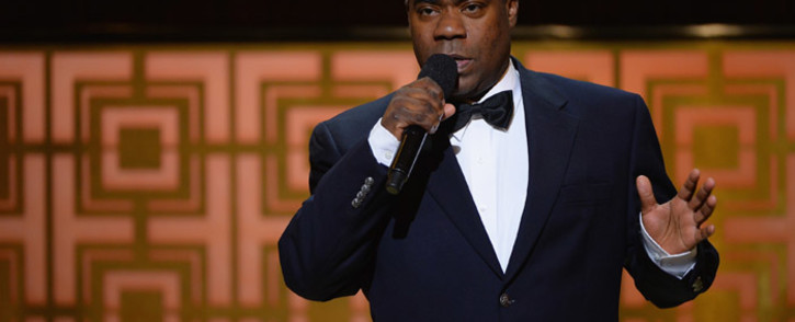 """FILE: Tracy Morgan speaks onstage at Spike TV's """"Don Rickles: One Night Only"""" on May 6, 2014 in New York City. Picture: AFP."""