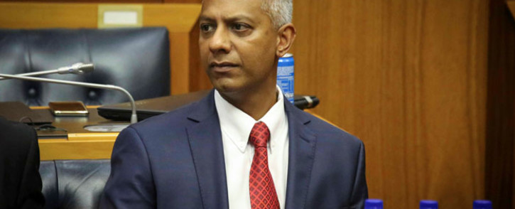 FILE: Anoj Singh addressing Parliamentarians during an inquiry into state capture on 23 January 2018. Picture: Cindy Archilles/Eyewitness News