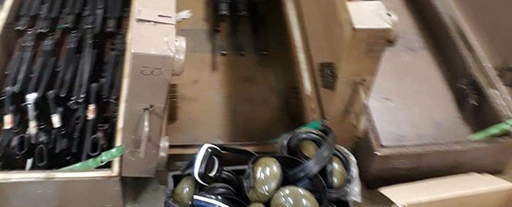 The SA National Defence Force (SANDF) said weapons were stolen from its Lyttleton Tek base in Pretoria. Picture: Intelligence Bureau SA/Facebook.