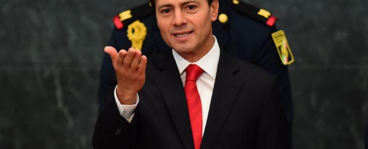FILE: Former Mexican President Enrique Pena Nieto. Picture: AFP.