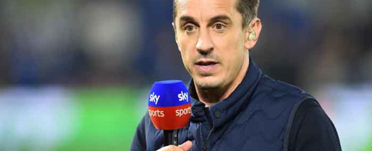 FILE: Sports commentator and former footballer Gary Neville. Picture: AFP.
