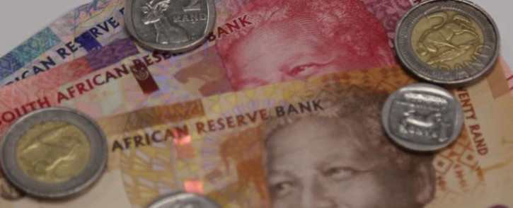At 1520 GMT on Wednesday, the rand traded 0.8 percent softer at 15.3500/dollar compared with Tuesday's close.. Picture: Christa Eybers/EWN