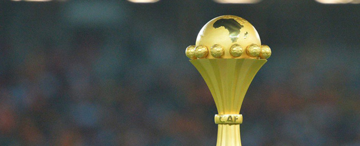 The Africa Cup of Nations trophy. Picture: @CAF_Online/Twitter.