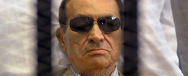 Former Egyptian leader Hosni Mubarak says he can't yet judge Mohamed Morsi's administration. Picture: AFP