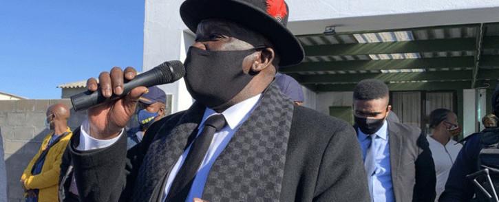 FILE: Police Minister Bheki Cele Picture: Kaylynn Palm/Eyewitness News.
