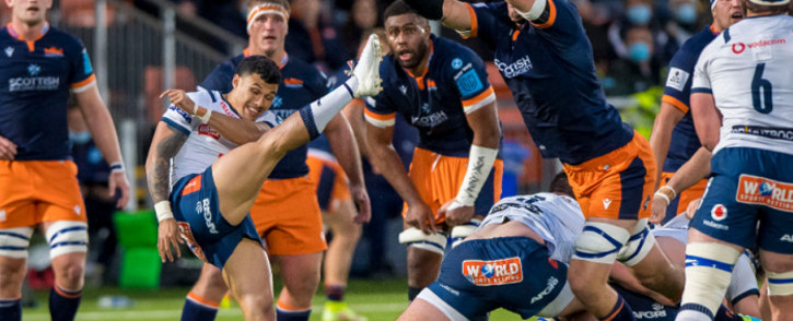 The Bulls took on Edinburgh on 16 October 2021 in the United Rugby Championship. Picture: @BlueBullsRugby/Twitter.