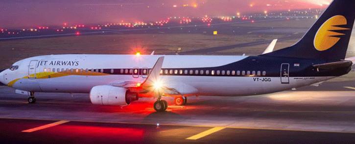 A Jet Airways plane. Picture: facebook.com