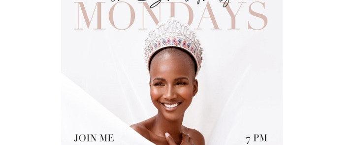 Sadag has partnered with Miss South Africa Shudufhadzo Musida to tackle the stigma surrounding mental health. Picture: Shudufhadzo Musida/Twitter.
