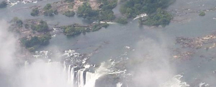 FILE: The Victoria Falls in Zimbabwe. Picture: Twitter/@VictoriaFalls1.