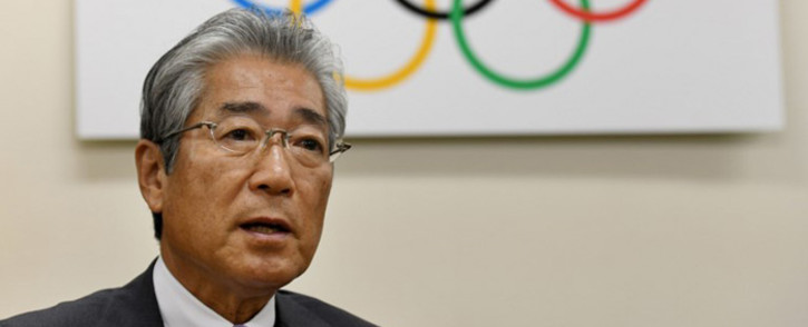 Japanese Olympic Committee president Tsunekazu Takeda speaks during an interview with AFP at his office in Tokyo on 19 January 2018. Picture: AFP.