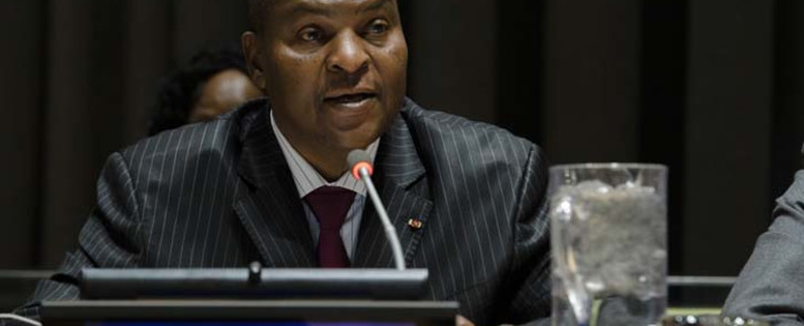 President of the Central African Republic Faustin Archange Touadéra. Picture: United Nations Photo.