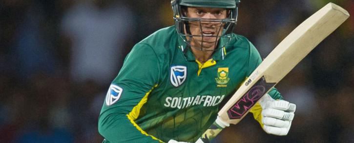 FILE: Proteas batsman Quinton de Kock. Picture: @OfficialCSA/Twitter