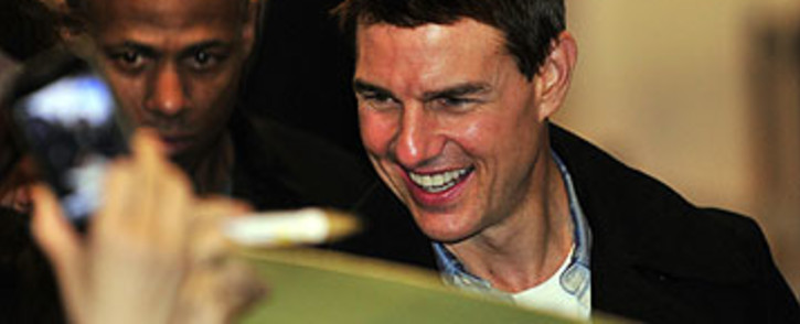 US film star Tom Cruise. Picture: AFP