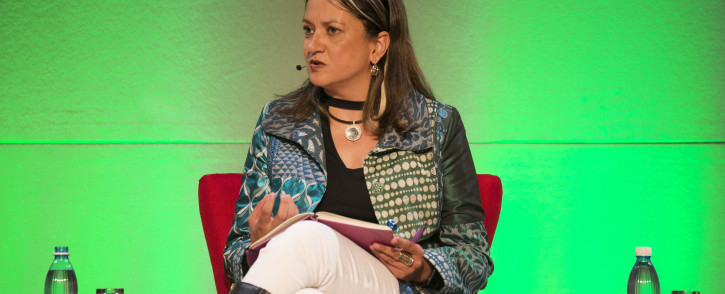FILE: Editor-at-large for HuffPost South Africa Ferial Haffajee at The Gathering: Media Edition at the Cape Town International Convention Centre on 3 August 2017. Picture: Bertram Malgas/EWN.