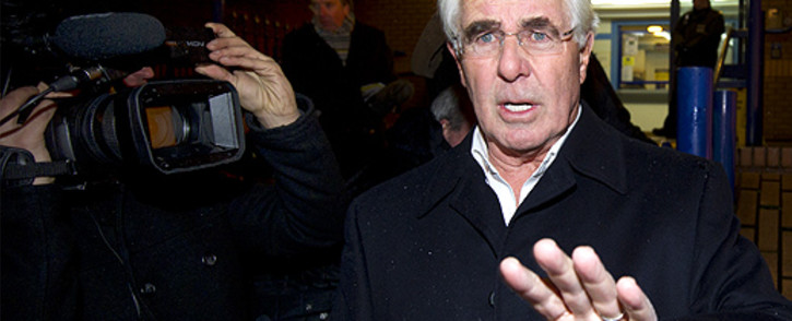 FILE: Publicist Max Clifford leaves a police station in central London in December 2012. Picture: AFP