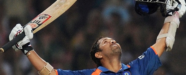 FILE: Indian cricket legend Sachin Tendulkar is among those implicated in the Pandora Papers. Picture: AFP.