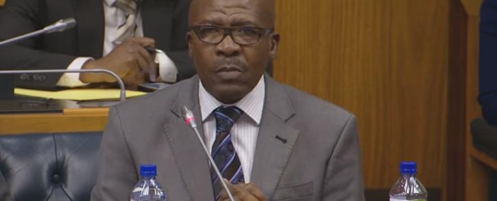 Former SABC board member Vusi Mavuso. Picture: Screengrab via Youtube
