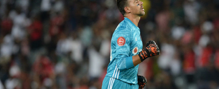 Orlando Pirates goalkeeper Wayne Sandilands was named man of the match in the match against Black Leopards on 16 February 2020. Picture: @orlandopirates/Twitter