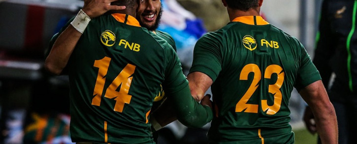 FILE: Whatever the South African game plan, John Plumtree said the All Blacks could expect a fierce contest from a side smarting over back-to-back losses to Australia. Picture: Springboks/Twitter