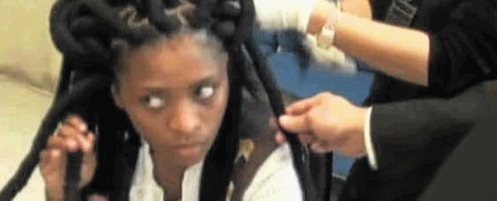 Nolubabalo Nobanda, was sentenced to 15 years in prison in Thailand for smuggling drugs in her dreadlocks. Picture: Supplied.