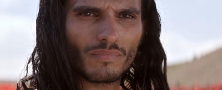 A YouTube screengrab shows Belgian actor Mehdi Dehbi in the Netflix thriller 'Messiah'.