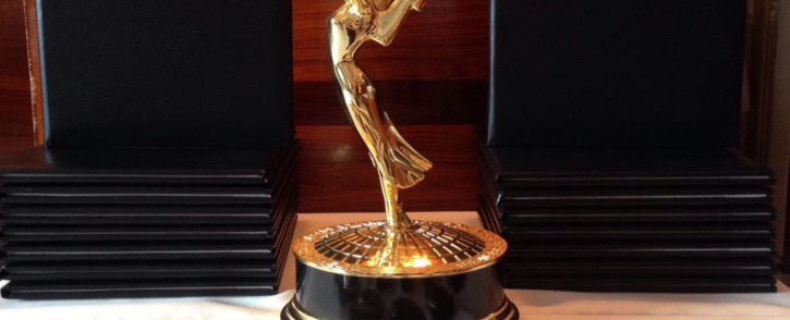 International Emmy Awards trophy and medals dispalyed in New York, October 2015. Picture: @iemmys.