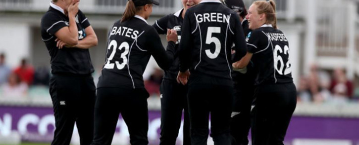 Members of New Zealand's women's cricket team, the White Ferns. Picture: Twitter/@WHITE_FERNS