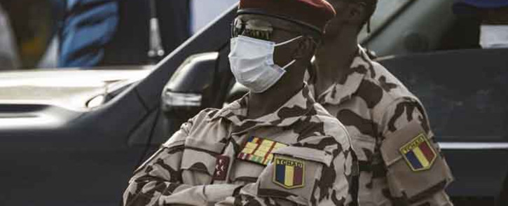 FILE: Chad's new junta leader Mahamat Idriss Déby. pICTURE: AFP.