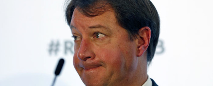 FILE: SA Rugby CEO Jurie Roux. Picture: AFP