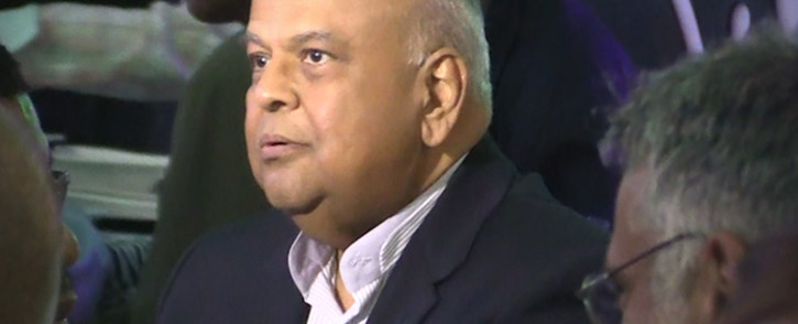 Finance minster Pravin Gordhan at the Ahmed Kathrada foundations Banquet on Heritage day. Picture: Kgothatso Mogale/EWN