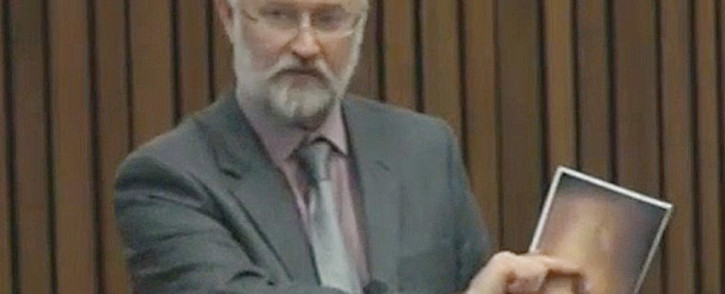 Forensic expert Roger Dixon. Picture: Pool.