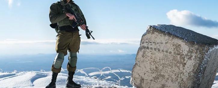 An Israel soldier. Picture: @idfonline/Facebook.com.