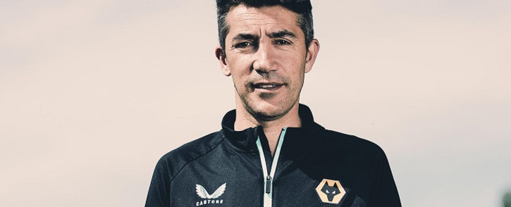 Bruno Lage. Picture: Wolves/Twitter