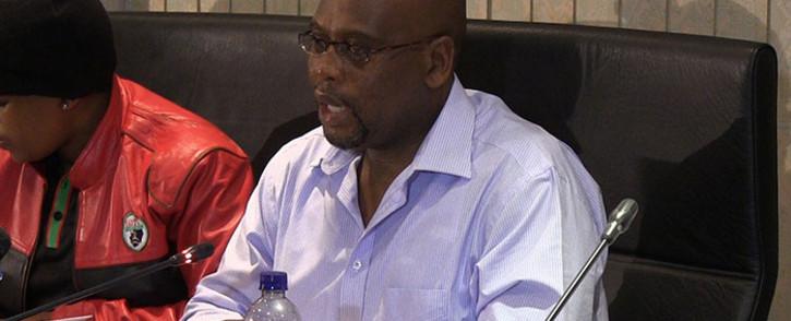 Cosatu President Sidumo Dlamini. Picture: Reinart Toerien/EWN.