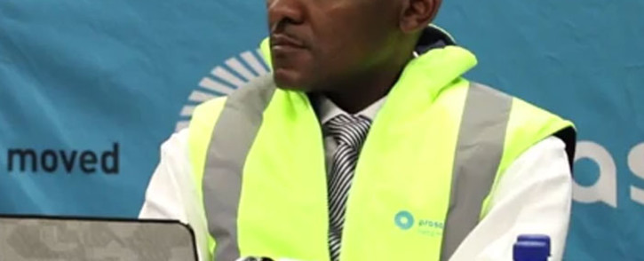 Screengrab of Prasa's suspended engineering chief Daniel Mthimkhulu. Picture: Youtube.com