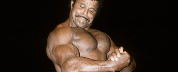 Rocky Johnson, a former wrestler and father of Dwayne 'The Rock' Johnson. Picture: @CACReunion/Twitter.