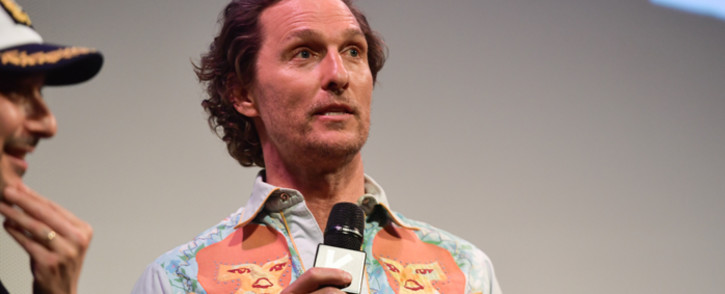 FILE: Matthew McConaughey attends the 'The Beach Bum' Premiere 2019 SXSW Conference and Festivals at Paramount Theatre on 9 March 2019 in Austin, Texas. Picture: AFP
