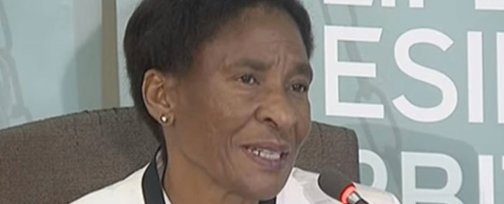 A screengrab of Hanna Jacobus giving testimony at the Esidimeni arbitration hearing on 19 January 2018.