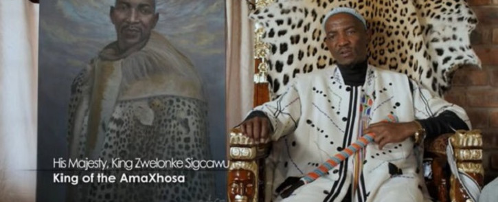 King Sigcawu. Picture: @PresidencyZA/Twitter