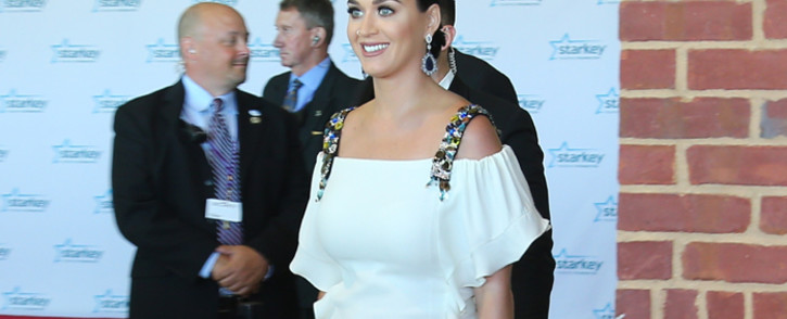 Katy Perry on the red carpet at the 2015 Starkey Hearing Foundation So The World May Hear Gala at the St. Paul RiverCentre on 26 July, 2015 in St. Paul, Minnesota. Picture: AFP.