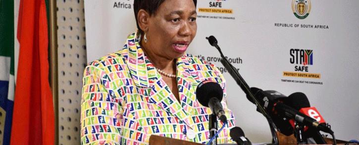 FILE: Basic Education Minister Angie Motshekga. Picture: GCIS.