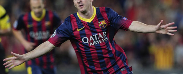 Barcelona's Argentinian forward Lionel Messi. Picture: AFP
