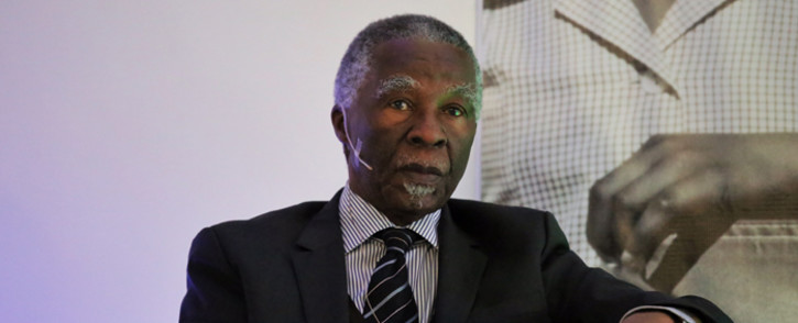 Former President Thabo Mbeki. Picture: Christa Eybers/EWN