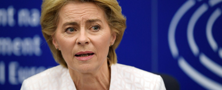 FILE: European Commission President Ursula von der Leyen. Picture: AFP.