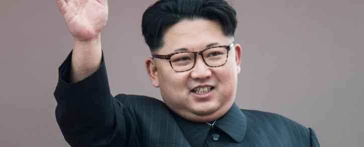 North Korean leader Kim Jong-Un in May 2016. Picture: AFP.