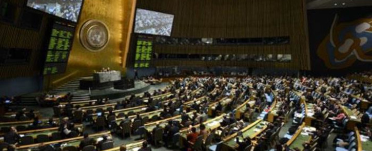 FILE: Delegates at the United Nations General Assembly. Picture: AFP